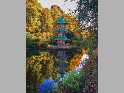 Alton Towers' Chinese Pagoda Fountain