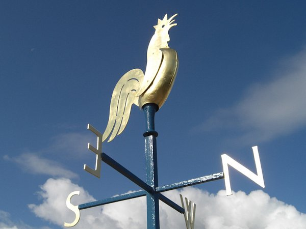 Bradford Cathedral, Weather Vane and Cross