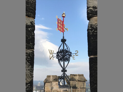Lancaster Castle Weathervane