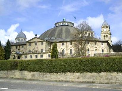 Devonshire Dome Ironworks, Buxton