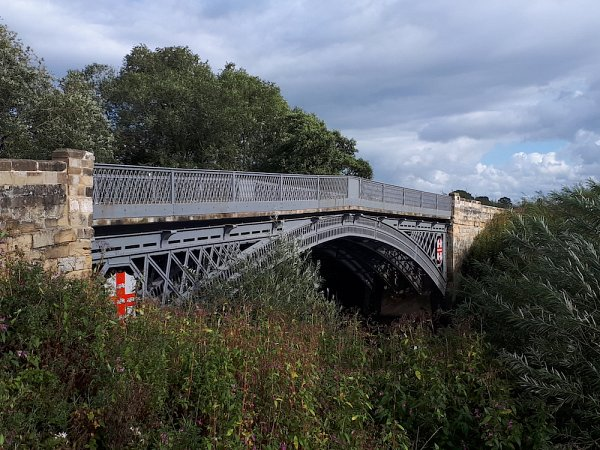 Thornton on Swale, Iron Bridge Parapet Repair