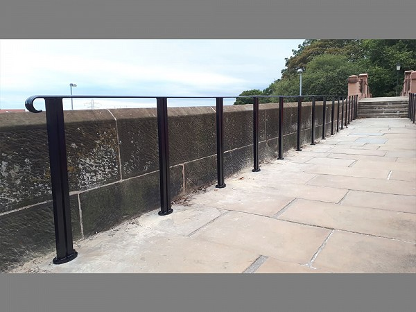 Chester City Walls Handrails and Railings