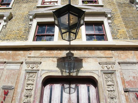 Wilton's Music Hall's new landmark lantern